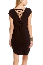 Chaser Cool Jersey Dress - Front full body