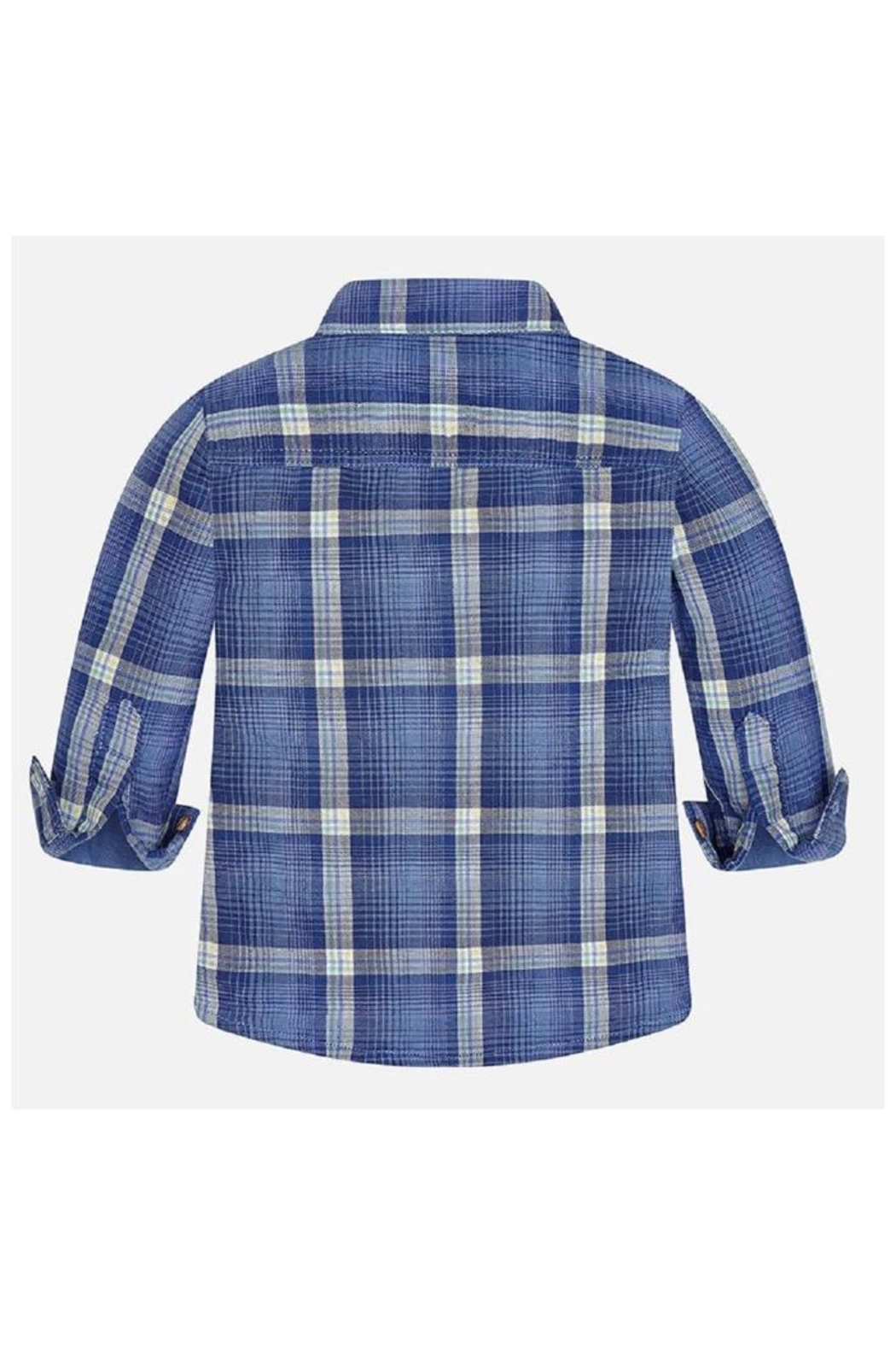 Mayoral Cool Plaid Shirt - Side Cropped Image