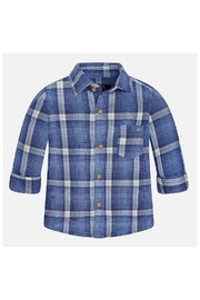 Mayoral Cool Plaid Shirt - Front cropped