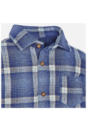 Mayoral Cool Plaid Shirt - Front full body