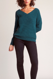 BB Dakota Cool Runnings Vneck Sweater - Product Mini Image
