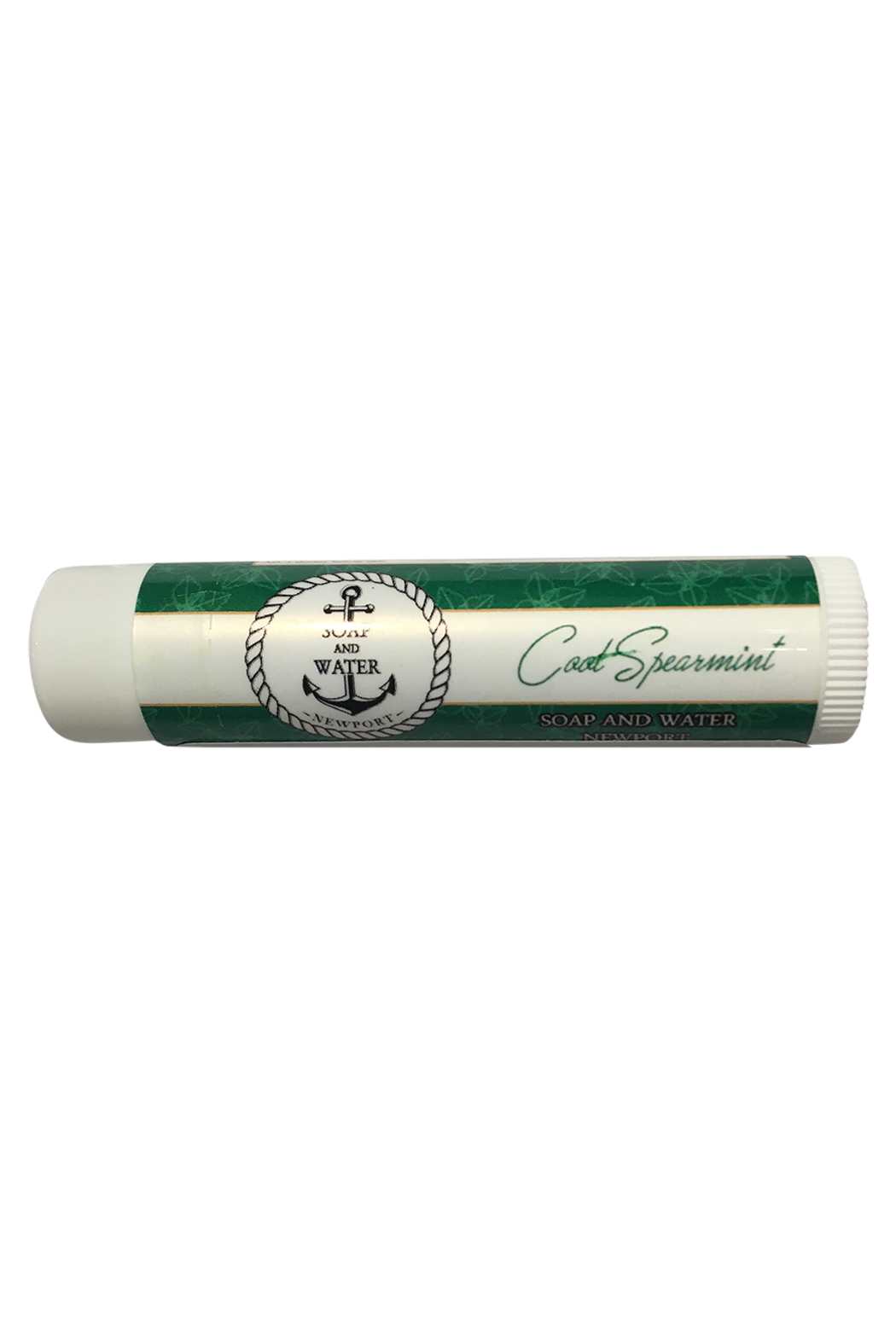Soap and Water Newport COOL SPEARMINT LIP BUTTER SPF15 - Main Image