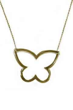 Shoptiques Product: Open Butterfly Necklace