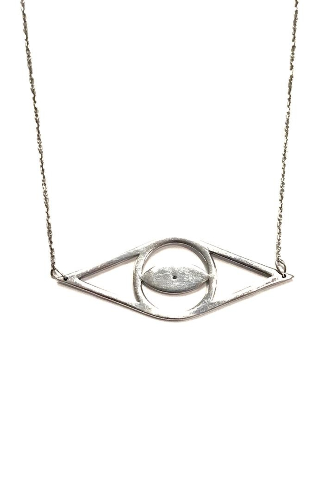 Cool and Interesting Open Evil-Eye Necklace - Main Image