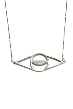 Cool and Interesting Open Evil-Eye Necklace - Alternate List Image