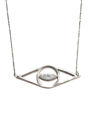 Cool and Interesting Open Evil-Eye Necklace - Front cropped