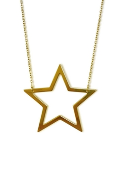 Shoptiques Product: Open Star Necklace