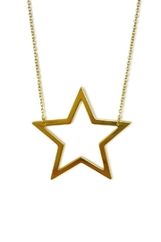 Cool and Interesting Open Star Necklace - Product Mini Image