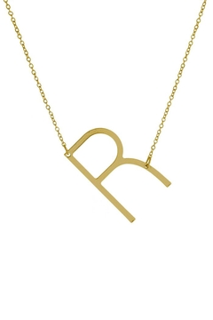 "Shoptiques Product: Sideways ""R"" Initial"