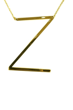 "Shoptiques Product: Sideways ""Z"" Initial"