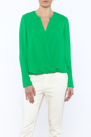 Cooper & Ella Alyssa Wrap Blouse - Product Mini Image
