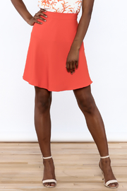 Cooper & Ella Orange High Waist Skirt - Product Mini Image
