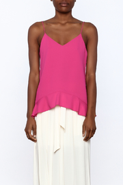 Cooper & Ella Hot Pink Sleeveless Top - Side cropped