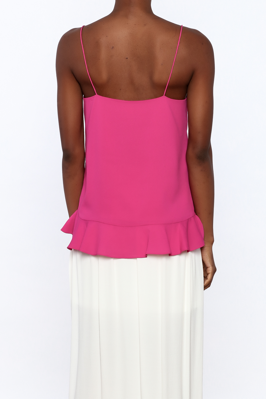 Cooper & Ella Hot Pink Sleeveless Top - Back Cropped Image