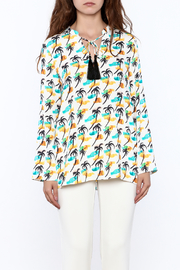 Cooper & Ella Palm Tree Blouse - Side cropped