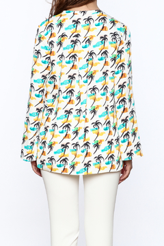 Cooper & Ella Palm Tree Blouse - Alternate List Image