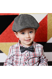 The Blueberry Hill Cooper Tweed Driving Cap - Side cropped