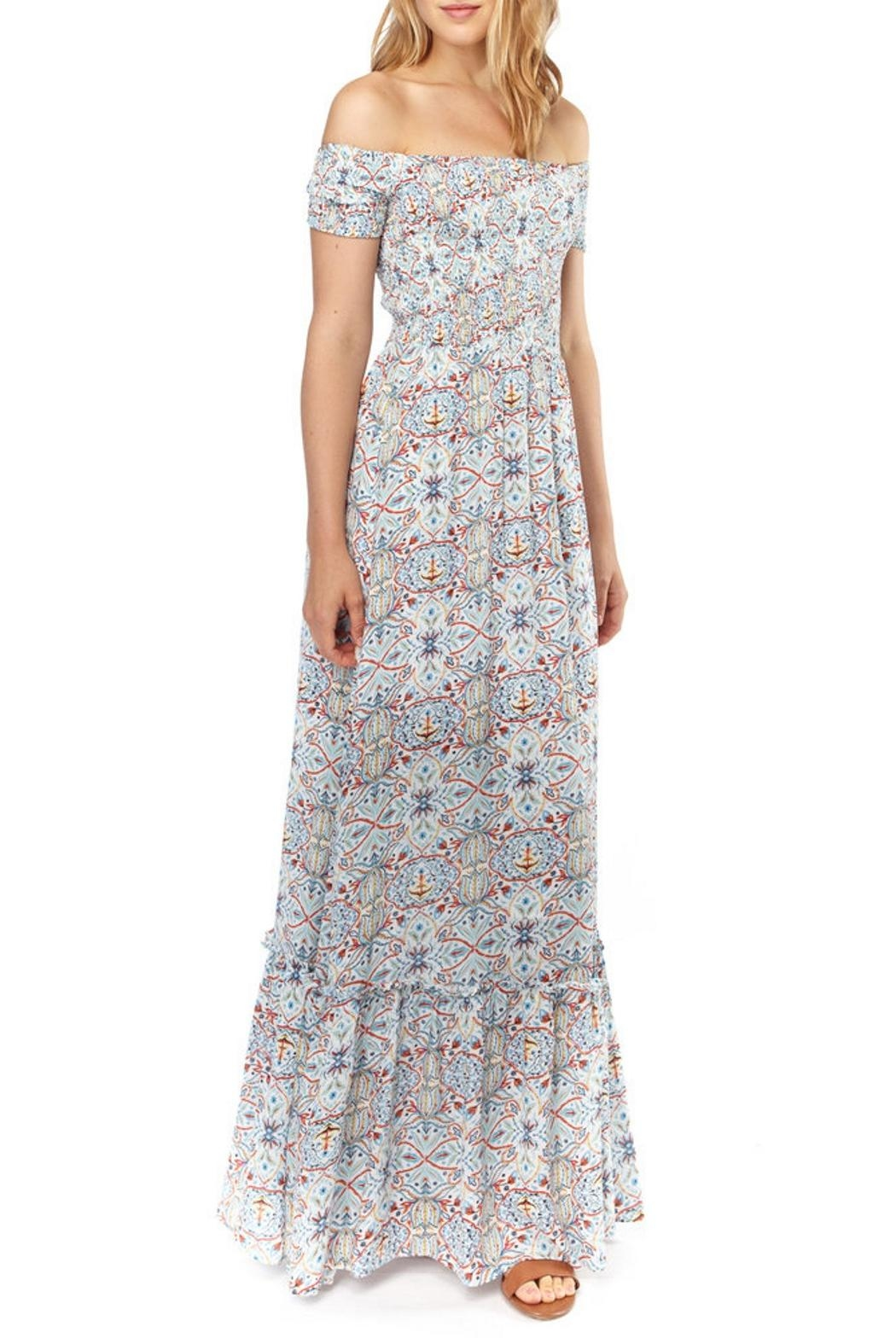 Cooper & Ella Senna Maxi Dress - Front Cropped Image