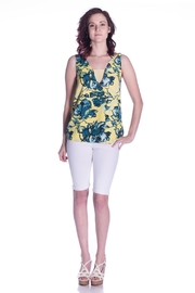 Cooper & Ella Vibrant Floral Top - Front cropped