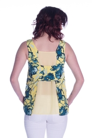 Cooper & Ella Vibrant Floral Top - Front full body