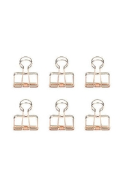 Kikkerland Design Copper Paper Clips - Product Mini Image