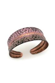 Anju Handcrafted Artisan Jewelry Copper Patina Cuffs - Product Mini Image