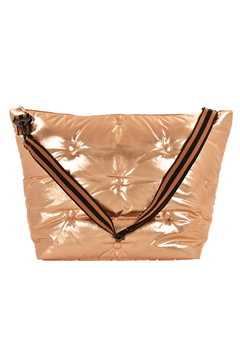 Iscream Copper Tufted Metallic Weekender Bag - Product List Image