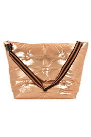 Iscream Copper Tufted Metallic Weekender Bag - Product Mini Image