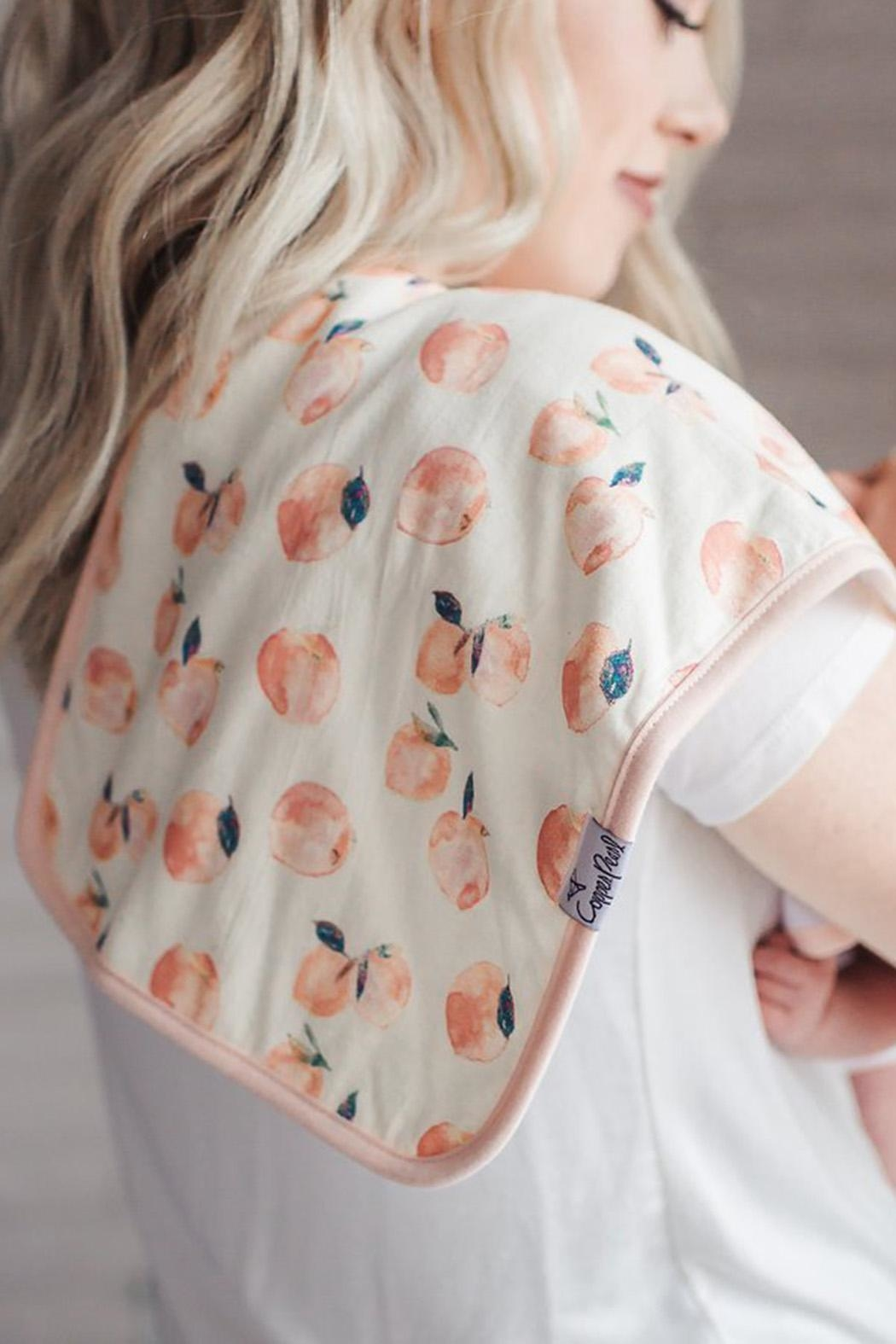 Copper Pearl Morgan Burp Cloths - Back Cropped Image
