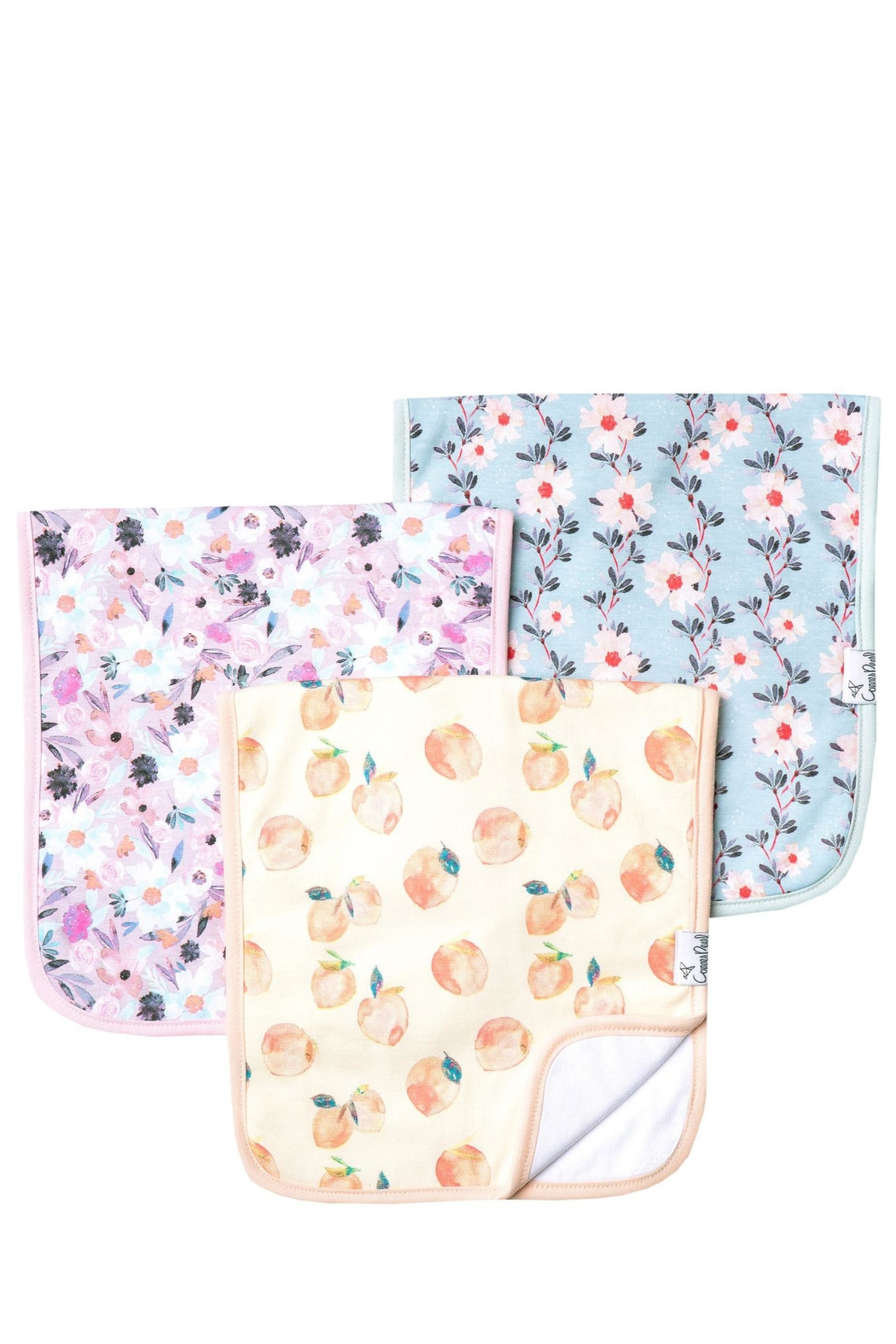 Copper Pearl Morgan Burp Cloths - Front Cropped Image