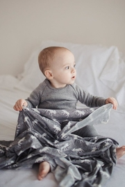 Copper Pearl Scout Swaddle Blanket - Back cropped