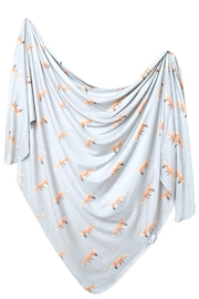 Copper Pearl Swift Swaddle Blanket - Front cropped