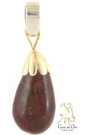 CDO  Copralite Pendant 14ky - Front cropped