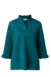 Jude Connally Cora Faux Suede Top - Product Mini Image