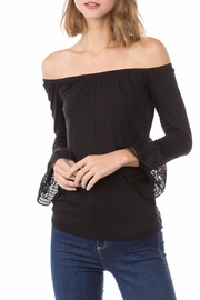 Vava by Joy Hahn Cora Off-Shoulder Top - Product Mini Image