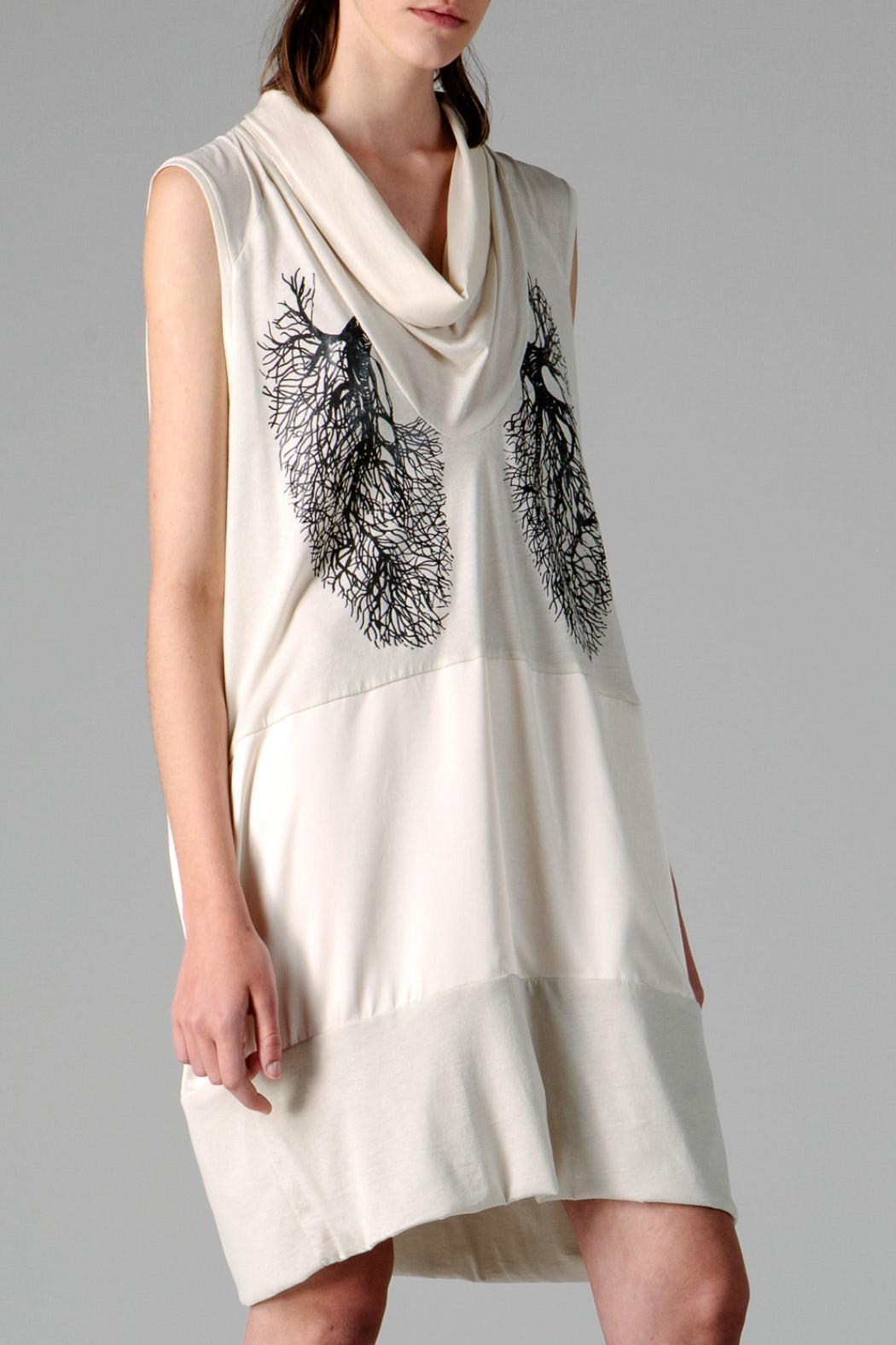 coragroppo Flowy Dress - Front Cropped Image