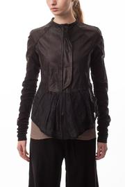 coragroppo Black Leather Jacket - Product Mini Image