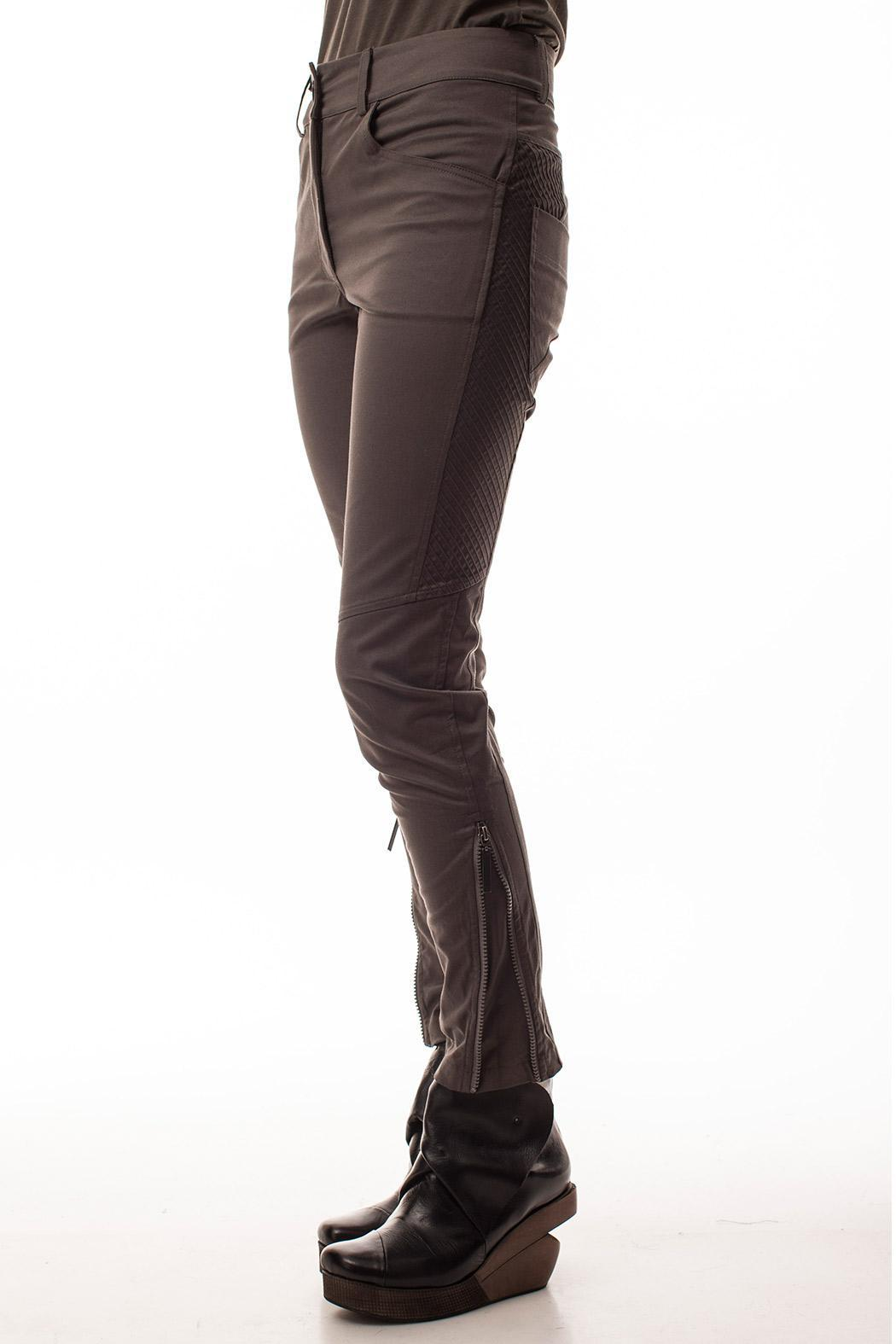 coragroppo Capri Brown Pants - Front Full Image