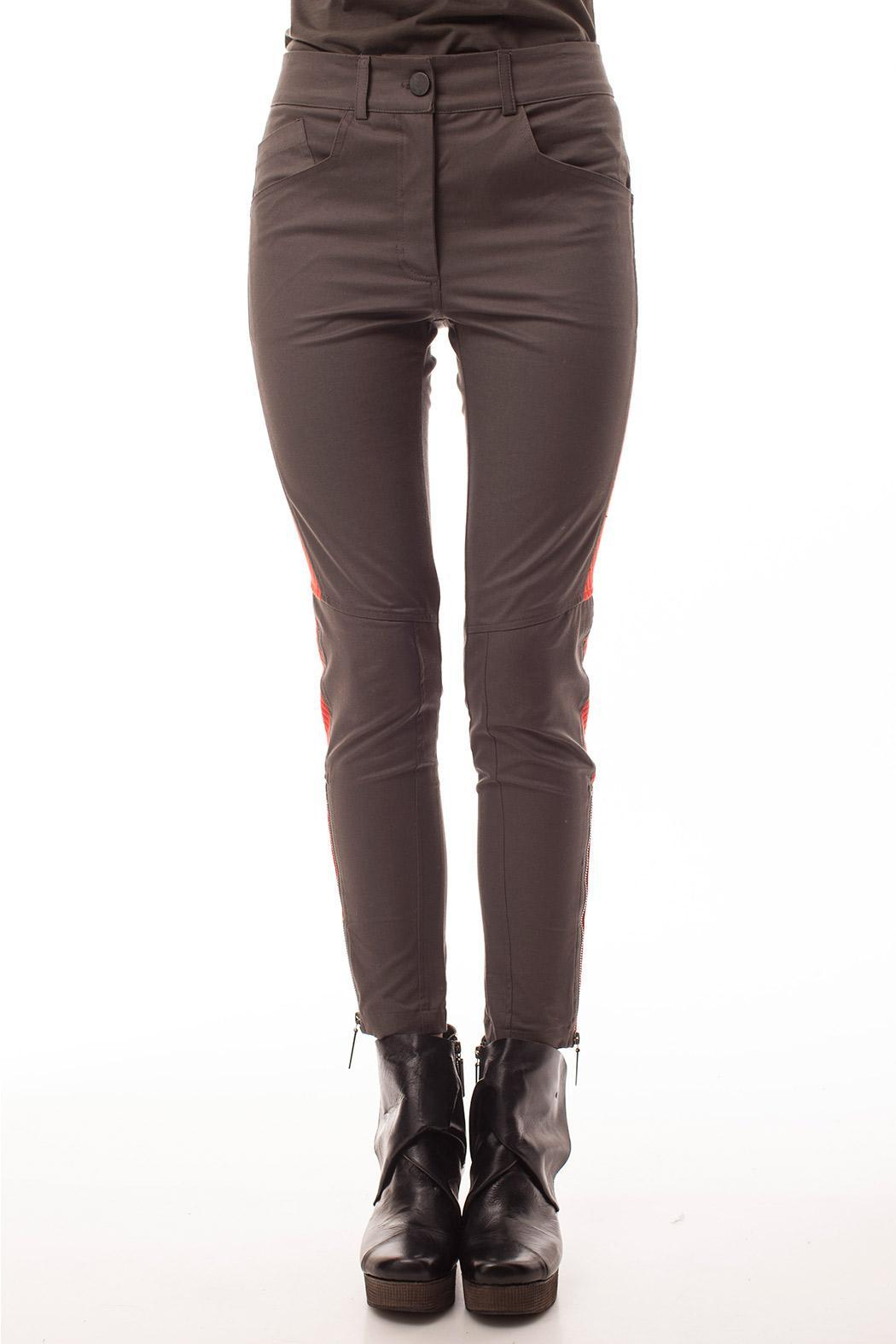 coragroppo Capri Brown Pants - Main Image