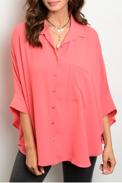 rokoko Coral Blouse - Product List Image