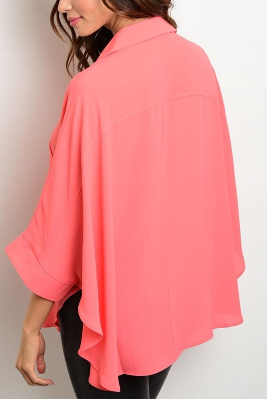rokoko Coral Blouse - Front Full Image