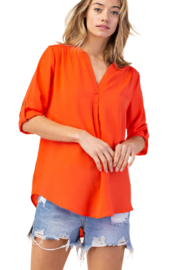 Mittoshop Coral Blouse - Product Mini Image