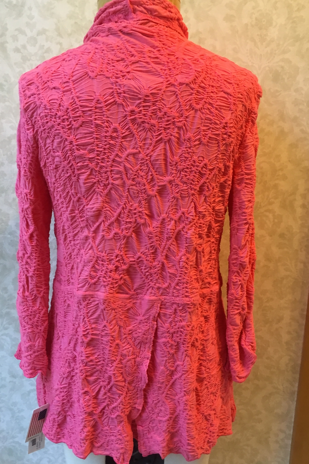 Sno Skins Coral cardigan - Front Full Image