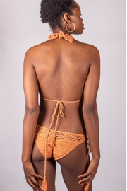 beachjoy Coral Crochet Swimsuit - Back cropped