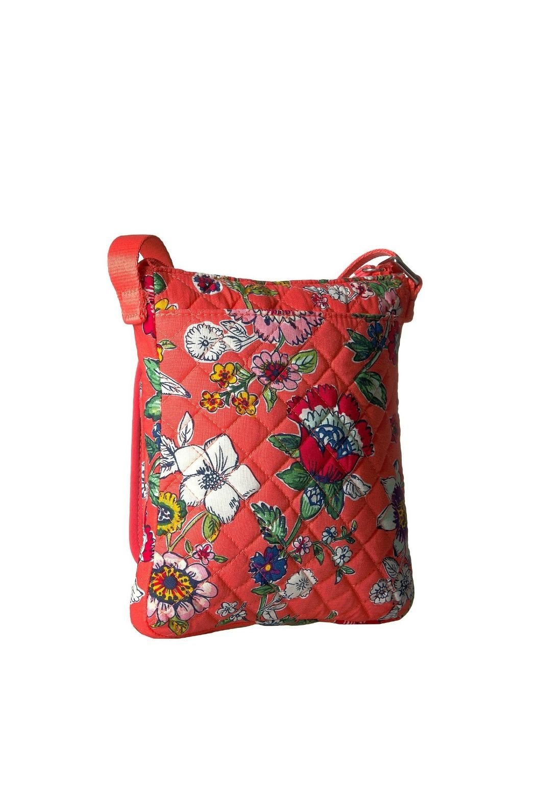 Vera Bradley Coral Floral Mini-Hipster - Front Full Image