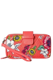 Vera Bradley Coral Floral Smartphone-Wristlet - Product Mini Image