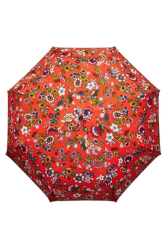 Shoptiques Product: Coral Floral Umbrella