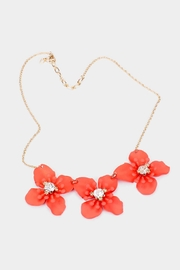Wild Lilies Jewelry  Coral Flower Necklace - Product Mini Image