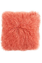 RENDR Coral Fur Pillow - Front cropped