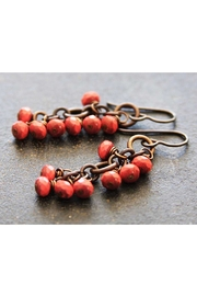 RELMoriginals Coral Glass Earrings - Product Mini Image